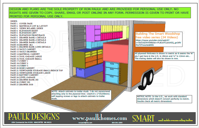 Smart Woodshop Plans Small Mobile Awesome Rolling Toolbox Designed